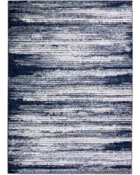 Blue And White Area Rugs Great Deal On Collection Blue Beige Polypropylene