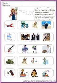 19 best community helpers printable worksheets for kids images on