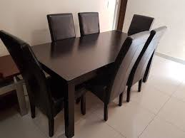 6 seater dining table and chairs 6 seater dining table chairs urgent sandton gumtree