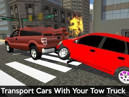 Tow Truck Business Cards Tow Truck Transporter 3d Android Apps On Google Play