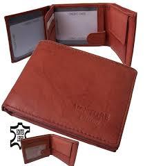 Esszimmerst Le Antik Leder Mini Portemonnaie Echt Leder Geldbörse Geldbeutel Trifold Herren