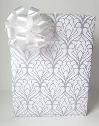bridal shower wrapping paper deco damask wedding wrapping paper in silver and white 10 ft x