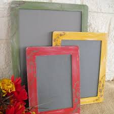 chalkboards set of 3 fall shabby chic chalkboards item 1146