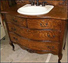 Bow Front Vanity It U0027s Very Satisfying Seeing This Piece Of Antique Furniture Given