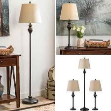 Vintage Table Lamp Shades with Table Floor Lamp Set Vintage Bronze Contemporary Lamps Shade
