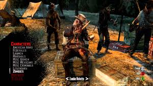 red dead redemption game wallpapers red dead redemption undead nightmare all online characters youtube