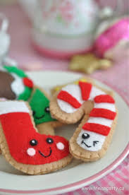 felt food christmas cookies felt food christmas cookies and felting