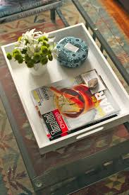 Coffee Table Trays by Carey On Lovely At Home Coffee Table Tray