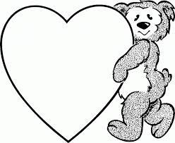 free valentine coloring pages for kids bebo pandco