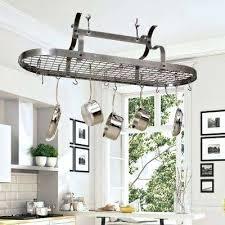 kitchen island hanging pot racks kitchen pot racks hanging kitchen pot rack ideas padve club
