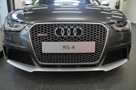 matte silver rs4 grille