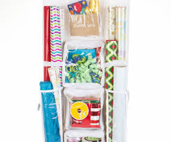 vertical gift wrap organizer uncategorized shop homz products clear wrapping paper tote with