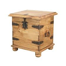 Rustic End Tables Rustic Pine Collection End Table Trunk Lat106