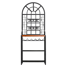 Corner Bakers Rack Sei Dome Bakers Rack Review Bakers Racks Collection