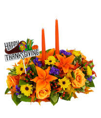 happy thanksgiving centerpiece at from you flowers