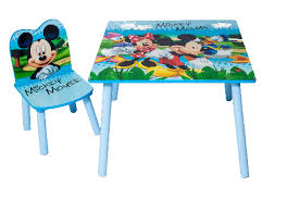 mickey mouse kids table disney mickey mouse kids table and one chair kids bedroom playroom