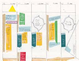 5 day work week 5 day work week diy planner template