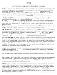 Agreement Templates Free Word S Rental Agreement Free Rental Lease Agreement Form