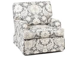 Swivel Accent Chair Chairs America Accent Chairs And Ottomans Traditional Skirted