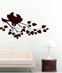 decor personalized custom name kitchen decals for kitchen shadow bird on branch wall art kitchen decals for kitchen decoration ideas
