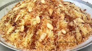 maroc cuisine traditionnel seffa medfouna au poulet le sésame des saveurs