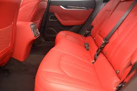 maserati levante interior back seat 2017 maserati levante s stock m1851 for sale near westport ct