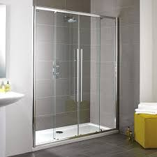 Showerlux Shower Doors New Showerlux Linea Touch Slider Shower Door 1900x1200mm 3