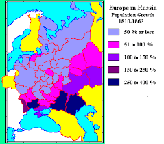 russia map by population whkmla russian empire 1796 1917 demographic history