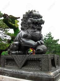 shishi statue guardian lion known as shishi or imperial guardian lion