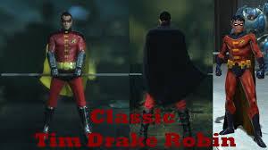 batman arkham city classic tim drake robin mod youtube
