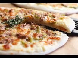 cuisine orientale facile réalisez une pizza blanche avec une recette rapide et facile à