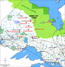 Map Of Ontario Canada by Noront Resources