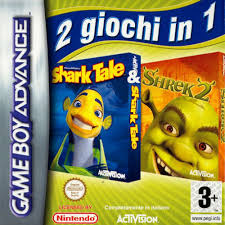 2 1 shrek 2 u0026 shark tale independent rom u003c gba roms