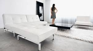 Modern White Leather Sofa Bed Sleeper White Leather Sofa Bed Sleeper Functionalities Net