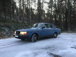 volvo sweden website my volvo 244 dl u002787 in the first snow lapland sweden volvo