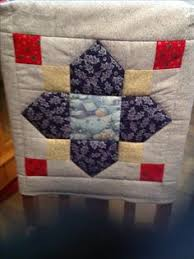 Christmas Chair Back Covers Present Quilt Block Used As Christmas Chair Back Cover Quilts