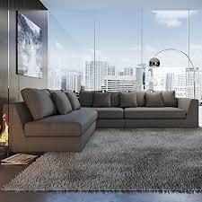 Sectional Sofa Grey Urbanmod Grey Sectional Sofa Modern Furniture Hub