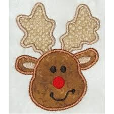 christmas applique free christmas reindeer applique design