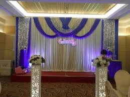 wedding backdrop blue 20ft 10ft wedding backdrop wih beautiful swags royal blue with