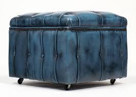 blue and white ottoman red white and blueomanomanswhite furniture square leather storage