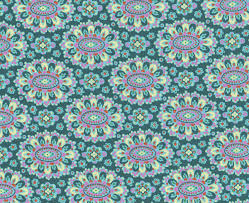 Amy Butler Home Decor Fabric by Amy Butler Eternal Sunshine Cloisonne Lake Quilting Cotton I Harts