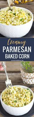 baked corn with parmesan