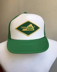 bureau hat vintage green trucker hat virginia farm bureau trucker hat