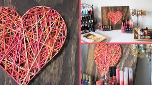 diy valentine u0027s day room decor gift idea youtube