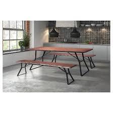 farmhouse style live edge dining table 70