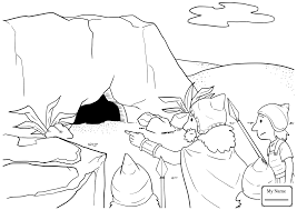 christianity bible david and abigail coloring pages for kids