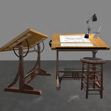 Utrecht Drafting Table Table Top Drafting Boards Miniature Furniture Patterns Plans