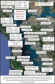 Map San Francisco Bay Area by Bay Area Home Value Map