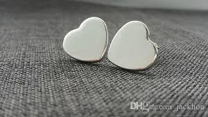 tiny earrings 2018 s033 tiny heart studs earrings simple heart stud