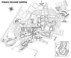 Ithaca Map The Council Of Independent Colleges Historic Campus Architecture